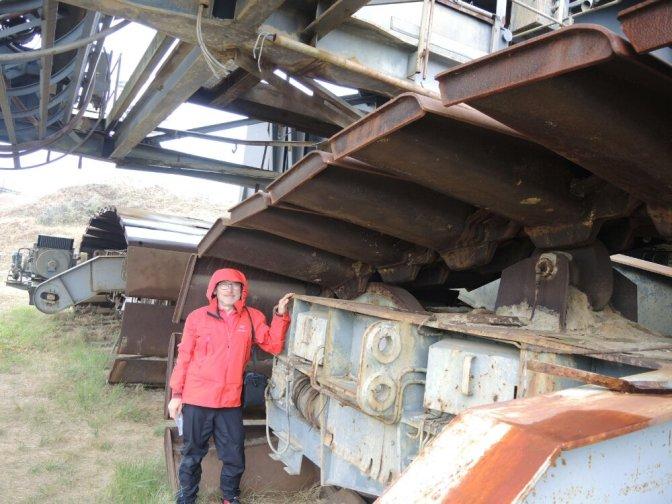 EM12 Groß, größer, Tagebau